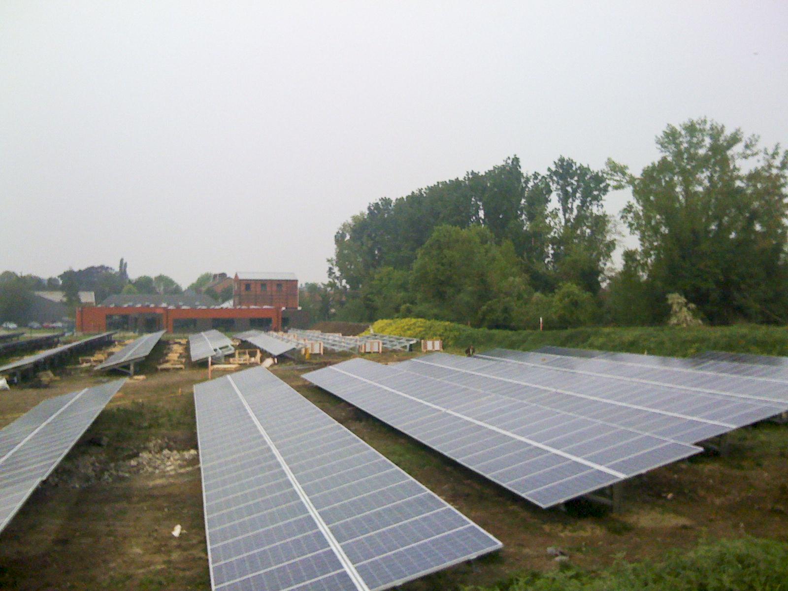 Zonnepaneleninstallatie Blankedale